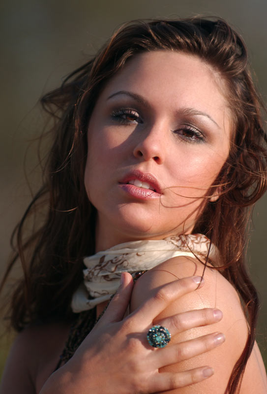 Makeup for H&M Catalog shoot