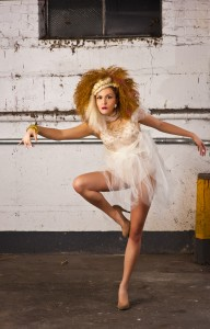 Makeup for designer shoot - White Dress